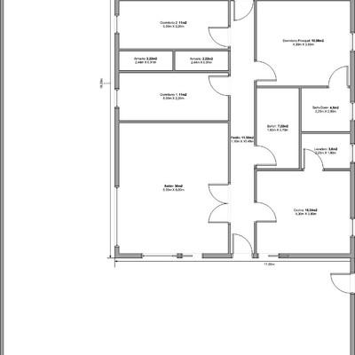 Casa moderna minimalista 135m de vivienda planta baja for Vivienda minimalista planos