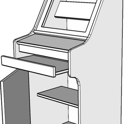 Hacer mueble maquina recreativa madrid madrid for Mueble maquina recreativa