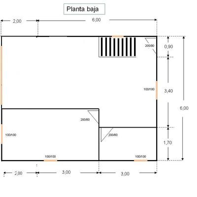 Construir casa de 80 m2 en dos plantas bara tarragona for Casa 2 plantas 160 metros cuadrados