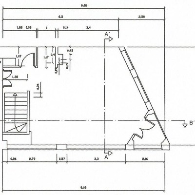 4 planos a escala y acotados y de secci n local 100 m2 madrid madrid habitissimo - Permisos para construir una casa ...