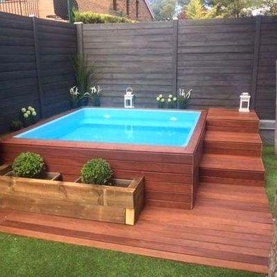 Instalaci n piscina elevada de madera marratxi es for Piscinas plasticas precios