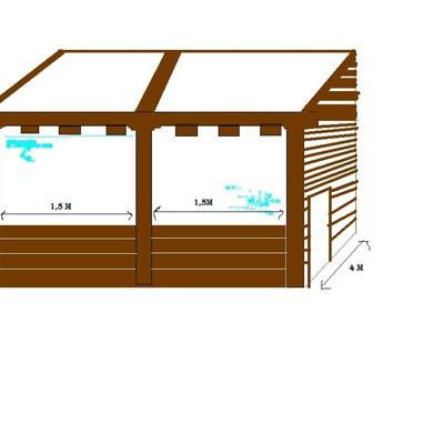 Como hacer un porche economico elegant with como hacer un for Como hacer un techo economico