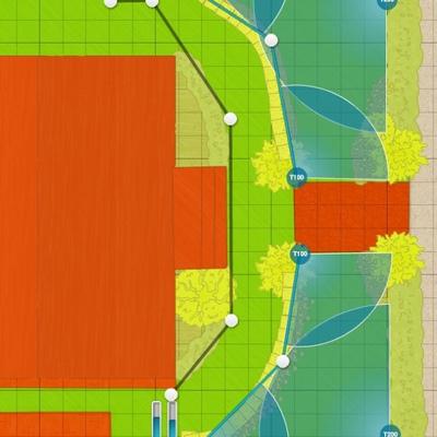 Proyecto de riego autom tico y siembra de c sped en jard n 400 m san rafael segovia - Presupuesto jardin ...