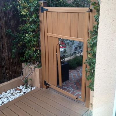 cambio puerta jardin pvc algete madrid habitissimo