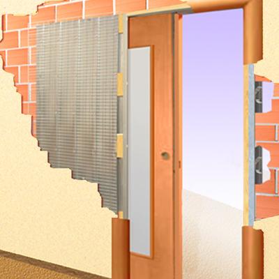 Puerta corredera empotrable cocina villa de vallecas - Como instalar una puerta corredera ...