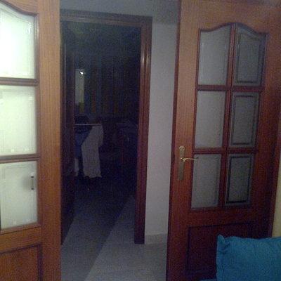 Sustitucion revestimiento marcos de madera de puertas l - Puertas madera barcelona ...