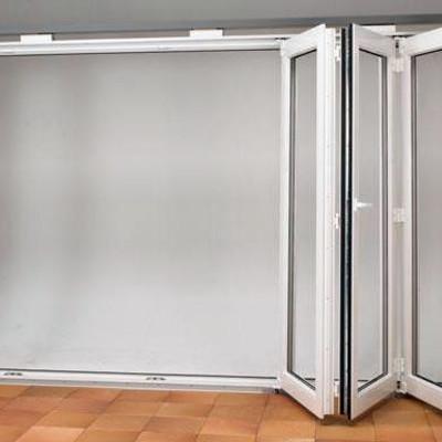 Puertas Acordeon Aluminio Cristal O Madera Madrid
