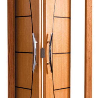 Puertas plegables de madera cervell barcelona habitissimo - Puertas de madera plegables ...