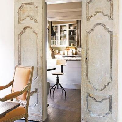 Suministro e instalaci n de puerta corredera colgante de estilo antiguo madrid madrid - Puertas correderas colgadas ...