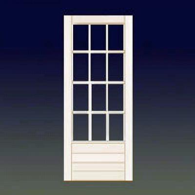 Instalar puerta de aluminio blanco y cristal camino de for Costo puerta aluminio