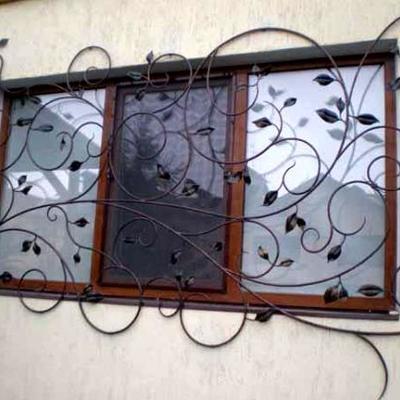 Rejas ventanas forja decorativa lli d 39 amunt barcelona - Rejas decorativas ...