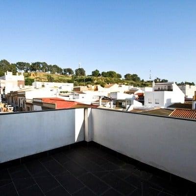 Techar y cerrar con ventanas correderas terraza de tico - Cerrar terraza atico ...