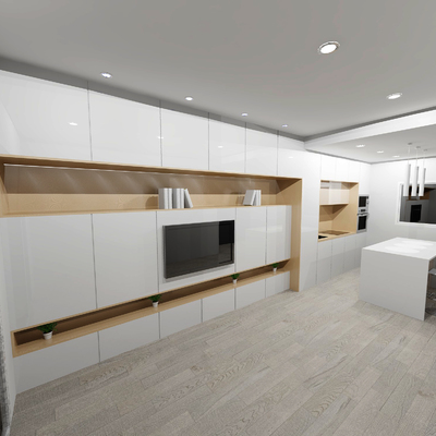 Instalar cocina nueva mueble de sal n e isla albacete - Muebles de cocina albacete ...