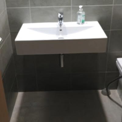 Precio Lavabo Diverta.Mueble De Bano Sobreencimera Para El Modelo Lavabo Roca Diverta 75 Pep Ventura Badalona Barcelona Habitissimo