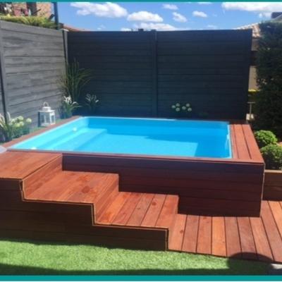 Construir piscina prefabricada pvc poli ster chiclana de for Precio piscina prefabricada enterrada