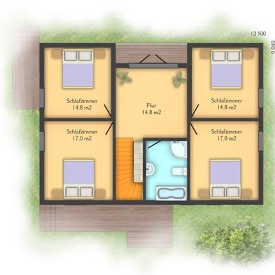 Casa prefabricada con garage albelda huesca habitissimo - Presupuesto casa prefabricada ...