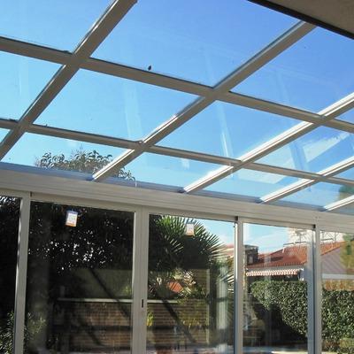 Cerramiento policarbonato techo m vil sangonera la verde - Planchas de policarbonato precios ...