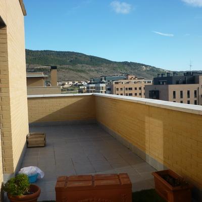 Colocacion vallado perimetral de proteccion en antepecho - Proteccion para terrazas ...