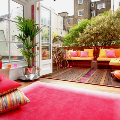 Refomar terraza urbana 30 metros cuadrados sant adri for Pisos de 30 metros cuadrados ikea