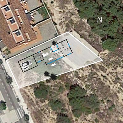 Casa obra hospi urb els corralets l 39 hospitalet de l for Casa minimalista tarragona