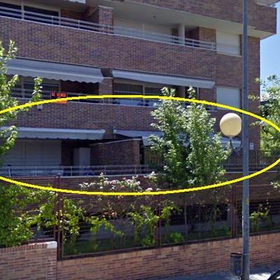 Toldo para bajo con terraza majadahonda madrid for Bajo con jardin majadahonda