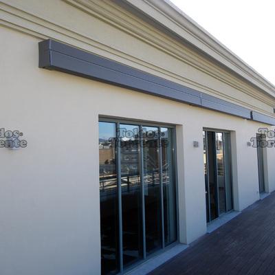 Instalar toldo en terraza sencelles illes balears for Brazos para toldos de segunda mano