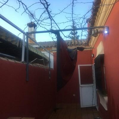 Montera patio y mueble aluminio para calentador los for Mueble para calentador de agua