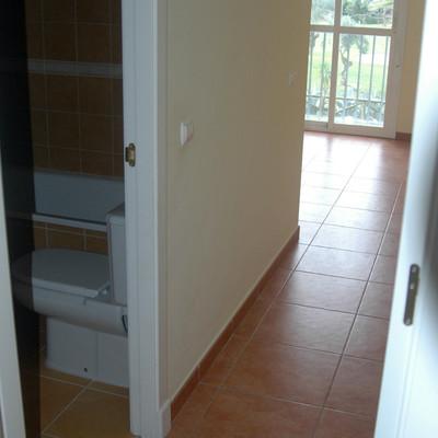 Vista baño y salón suite desde pasillo_309567