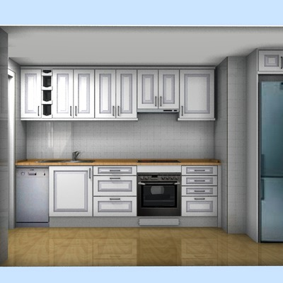 Presupuesto muebles de cocina en pvc y encimera cocina en duropal ...