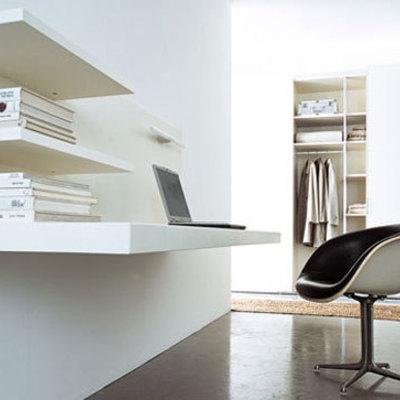 Hacer escritorio empotrado pared en blanco arteixo a coru a habitissimo - Escritorio pared ...