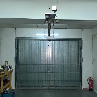 Puerta abatible garaje motor no funciona mecanismo motor - Motor puerta garaje precio ...