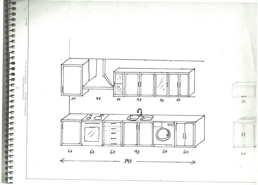 Poner encimera o bancada de cocina motilla del palancar - Medidas encimera cocina ...