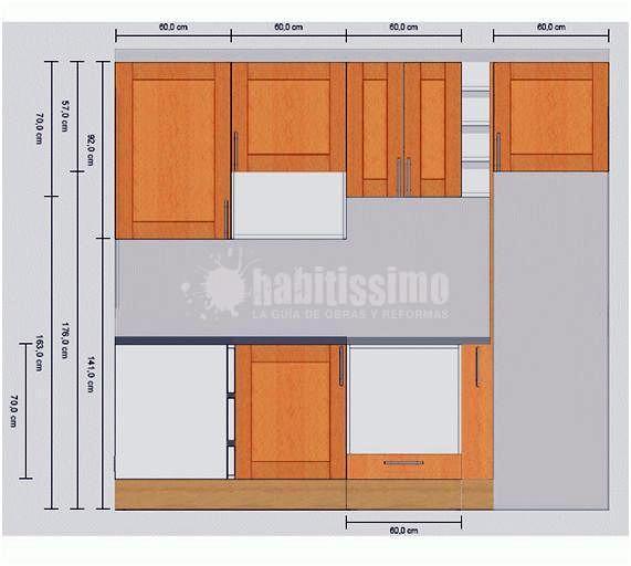 Como instalar muebles de cocina integral for Como instalar una cocina integral