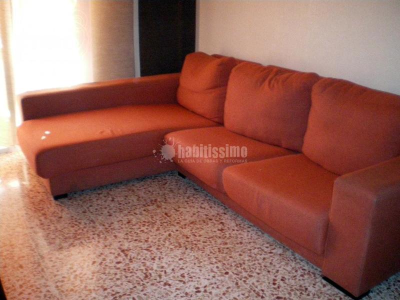 Tapizar un sof chaise lounge cartagena murcia - Precio tapizar sofa ...
