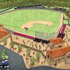 Construcción estadio softbol