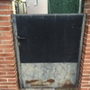 Aumentar altura de una pared y puerta metálica
