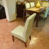 Encolar, rellenar y tapizar 6 sillas comedor