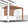 Construccion caseta terraza