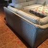 Tapizado de sofa de dos plazas