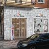 Aplacado de fachada de comercio y cambio de carpinteria metálica y vidrios