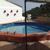 Construccion piscina pequeña en obra hormigon
