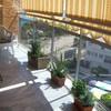 Cerramiento de terraza cortinas cristal