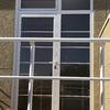 Puerta exterior de cristal en segovia