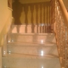 Pulir suelo de marmol y pintar pasillo y huego de escalera