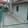 Cubierto tipo porche lateral casa