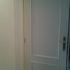 Pintar 3 con cristal 2 ciegas y puerta de entrada solo parte interior
