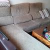 Tapizar un sofá con chaise longue
