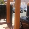 Colocar portón aluminio