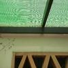 Instalación techo para el sandwich imitación teja y madera