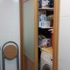 Reparar rodamientos puerta armario corredera